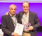 Mel Greaves et le Lifetime Achievement Award